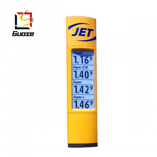 gas station equipment  of oil prices sign fuel station signages