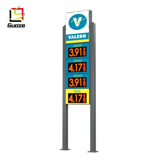 LED Backlit Vacuum Forming Car Signage Pylon Signs Billboards