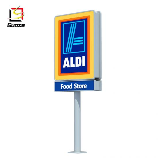 Digital outdoor gas station equipment led price display signs