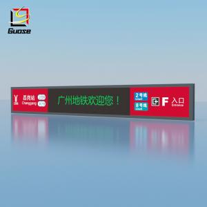 Illuminated Acrylic Panel Rectangle Topper Indication Sign