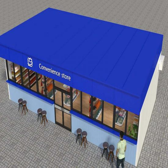 Prefabricated mini shop