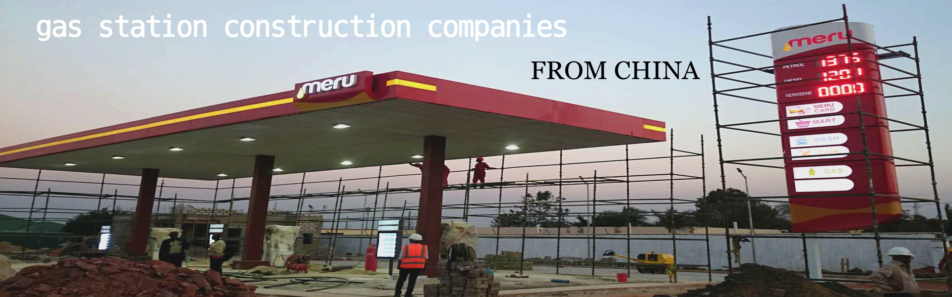 petrol pump  construction company